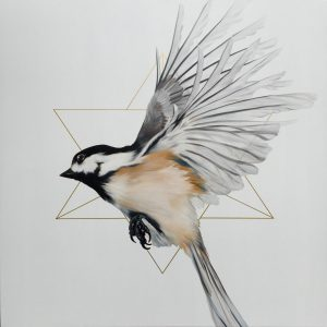 Melissa Del Pinto - Merkaba in flight 36x36